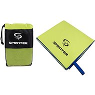 Sprinter - ručník z mikrovlákna 70 × 140 cm - zelený - Ručník