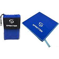 Sprinter - ručník z mikrovlákna 100 × 160 cm - modrý - Ručník