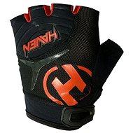 Haven Demo short black/red - Cyklistické rukavice
