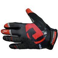 Haven Singletrail Long black/red - Cyklistické rukavice