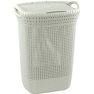Curver Knit Lingerie Knit 57L Cream - Laundry Basket