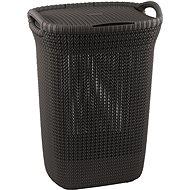 Curver Knit Lingerie Knit 57L Brown - Laundry Basket