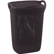 Curver Knit Laundry Knit 57L Purple - Laundry Basket
