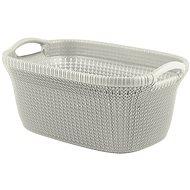 Curver Laundry Knit 40L Cream - Laundry Basket