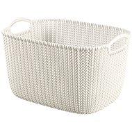 Curver Knit Collection Basket 19l Cream - Storage Box