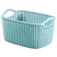 Curver Knit 3L Korb blau - Aufbewahrungsbox