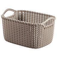 Curver Knit košík 3L hnědý - Úložný box