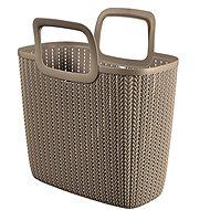 Curver Knit Shopping bag hnědá - Nákupní taška