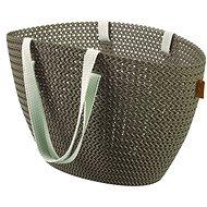 Curver Knit taška Emily hnědá - Nákupní taška