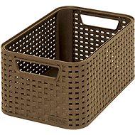 Curver Stil-Box mit hellbraun - Aufbewahrungsbox