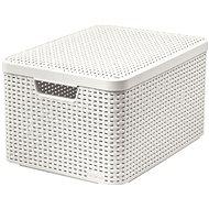 Curver Style box s víkem L krémový s víkem 03619-885 - Úložný box