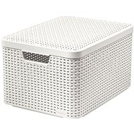 Curver Style Box with Lid L Cream - Storage Box
