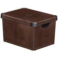 Curve Decobox - L - Leather - Storage Box