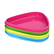 LMF StackPlate 4-pack cyan/lime/green/fuchsia