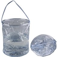 Acecamp Transparent Folding Bucket 10L