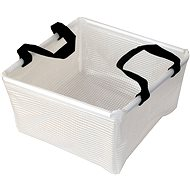 Acecamp Transparent Folding Square Basin 10L - Wash-basin