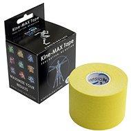 KineMAX Classic kinesiology tape žltá