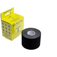 KineMAX SuperPro Cotton kinesiology tape černá