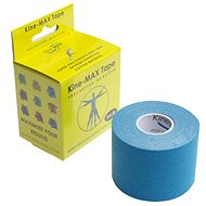 KineMAX SuperPro Cotton kinesiology tape modrá