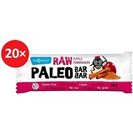 MAX SPORT RAW PALEO BAR jablko škorica 20 ks - Raw tyčinka