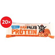 MAX SPORT RAW PALEO PROTEIN Peanut Volcano 20 ks - Proteinová raw tyčinka