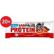 MAX SPORT RAW PALEO PROTEIN Blood Orange 20 ks - Proteinová raw tyčinka