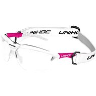 Unihoc X-RAY senior white/cerise - Florbalové brýle