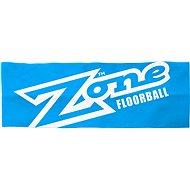 Zone Stirnband TRENDSETTER breit blau / weiß - Stirnband
