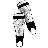 Puma Pro Training grd + ankle white S - Fotbalové chrániče