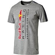 Puma RBR Logo Tee Medium Gray Heath XL