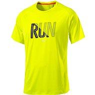 Puma Run S S Tee Safety Yellow M - Triko