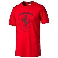 Puma Ferrari Big Shield Tee Rosso C M