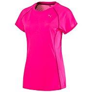 Puma PE_Running_S S Tee W Pink Glo S