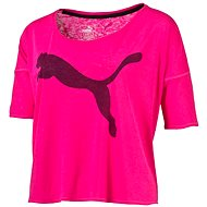 Puma The Good Life T-Shirt Pink Glo L