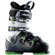 Alpina X Spur 50 schwarz / weiß / grün (ALU Schnallen) 310