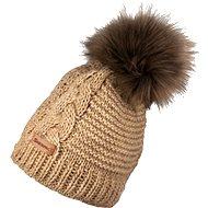 Sherpa Karen 2 beige - Zimní čepice