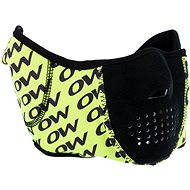 OW Maya Facial Mask Black/Yellow - Nákrčník