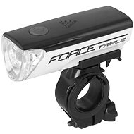Triple Force 3 LEDs + batteries, white