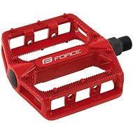 Force pedals BMX HOT aluminum, red