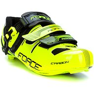Force tretry Road Carbon, fluo-černé 44 - Tretry