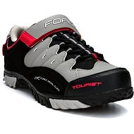 Force tretry Tourist, black-gray-red 44 - Spikes