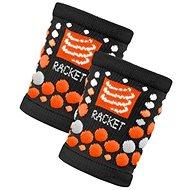 COMPRESSPORT wristband black/orange - Sportaccessoires