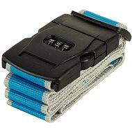Rock TA-0012 - modrá/šedá - Popruh na kufr