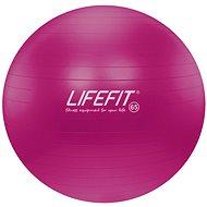 Lifefit anti-burst 65 cm, bordó - Gymnastický míč