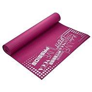 Lifefit slimfit gymnastická, 173x61x0,4cm, bordó