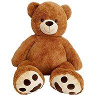 Medvěd 135 cm čokoládový - Plyšová hračka