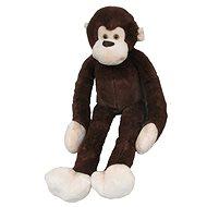 Plüsch-Affe Armlänge 100 cm, dunkelbraun - Plüschspielzeug