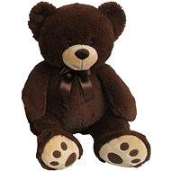 Plyšový medvídek 60 cm, tmavě hnědý - Plyšová hračka