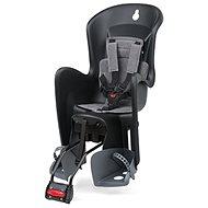 Polisport Bilby RS čierno-šedá - Detská sedačka na bicykel