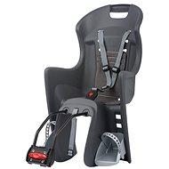 Polisport Boodie tmavěšedo-šedá - Dětská sedačka na kolo